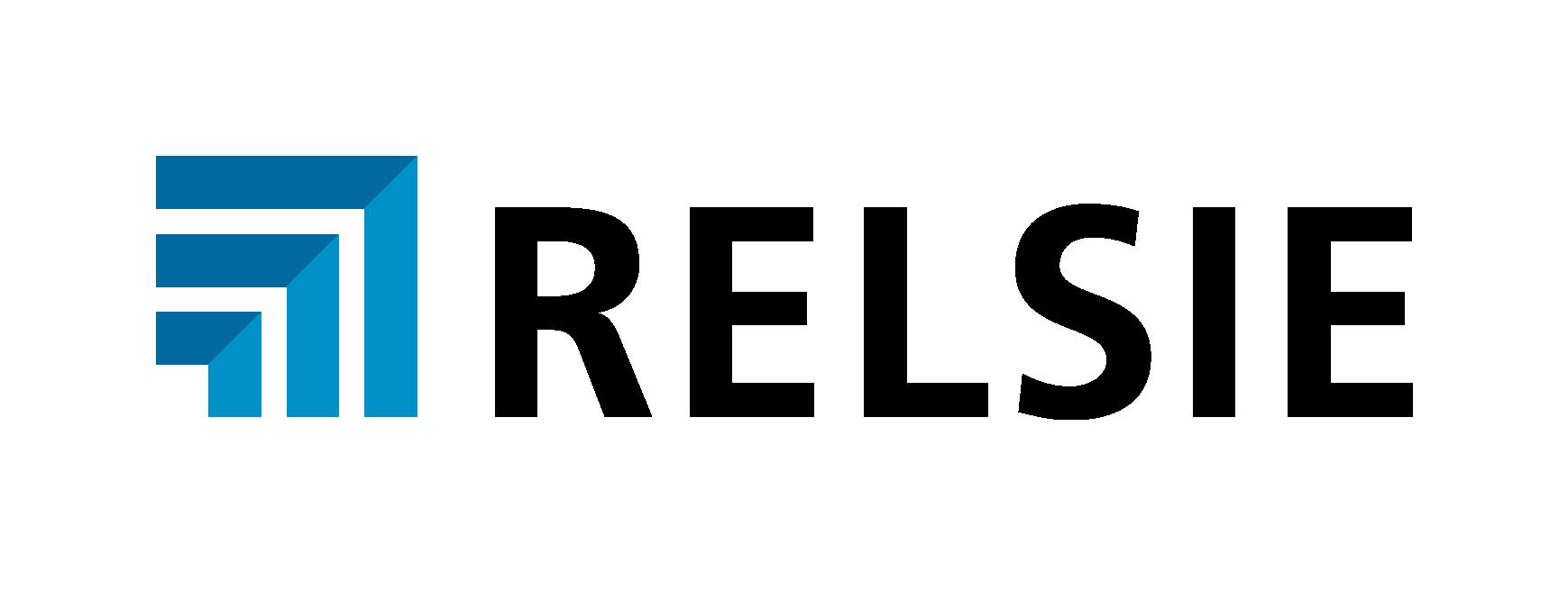 Relsie logo se zonou RGB